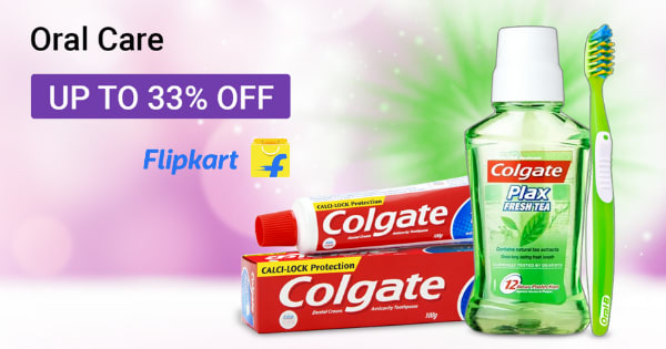Up to 33% off on Oral Care