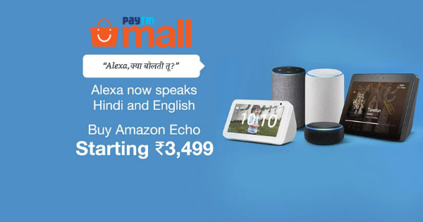Starting Rs. 3,499 Amazon Echo Speakers
