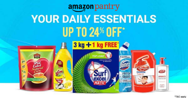 UP to 24% Off on Daily Essentials