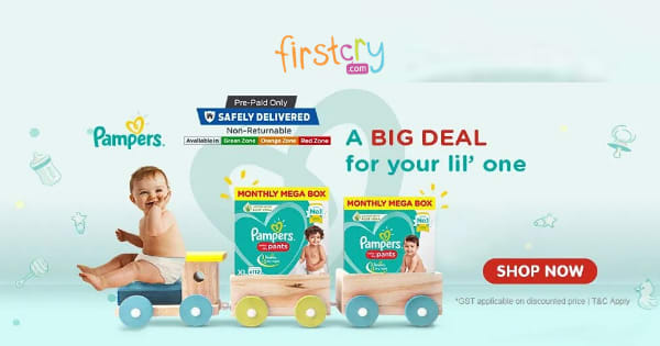 A Big Deal for your lil one | Pampers Range