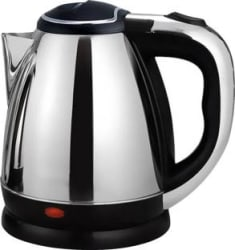Ortan Longlife (R) 1.8 L Stainless Steel Quick Heating Tea - Water Boiler Heater Pot Electric Kettle 1.8 L, Silver