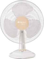 Bajaj MIDIEA BT-07 400MM 400 mm 3 Blade Table Fan WHITE, Pack of 1