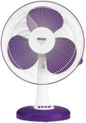Usha Mist Air Icy 400 mm 3 Blade Table Fan Purple, Pack of 1