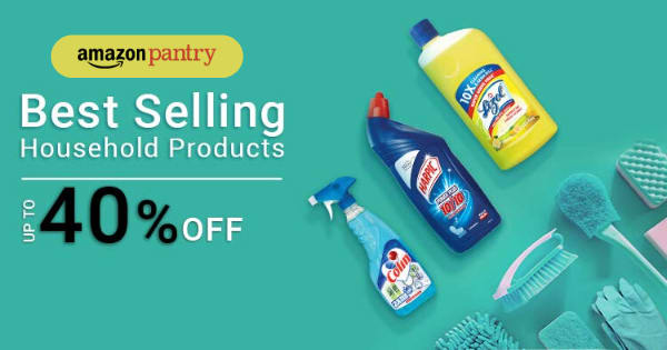 Up to 40% off on Household Products