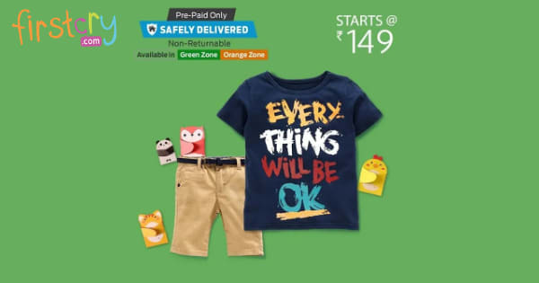 start Rs. 149 Kids Fashion
