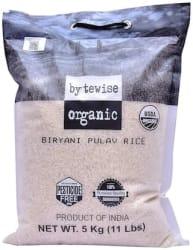 Bytewise Organic Premium White Basmati Rice 5 kg