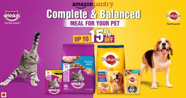 Up to 15% off on Meal for Your Pet