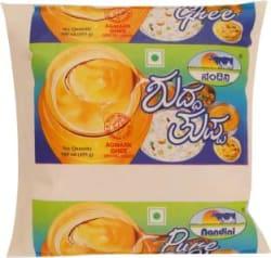 Nandini Pure Cow Ghee 500 ml Pouch