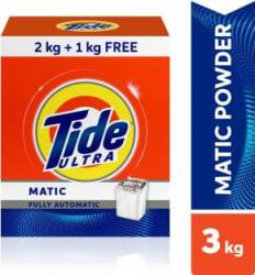Tide Ultra Matic - 2 kg + 1 kg Free=3 kg Detergent Powder 3 kg