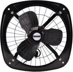 Sauran 230mm Ventilation Exhaust Fan, Heavy Duty (With Warranty) 230 mm 3 Blade Exhaust Fan Black, Pack of 1