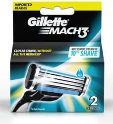 Gillette Mach 3 Cartridge Pack of 2