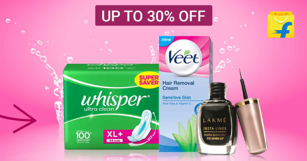 Up to 30% off on Personal Care Essentials