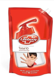 Lifebuoy Total 10 Hand Wash Refill Hand Wash Pouch(750 ml)