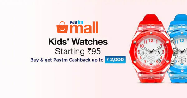Starting Rs. 95 Kid s Watches