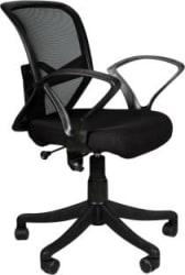 APEX CHAIRS SAVYA HOME TRAX NYLON BASE CHAIR Fabric Office Executive Chair Black