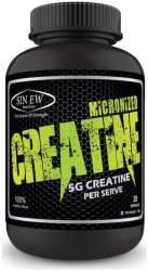 Sinew Nutrition Micronized Creatine Monohydrate 100 g / 0.22 Lb - Unflavoured
