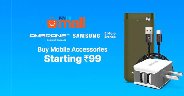 Starting Rs.99 Mobile Accessories