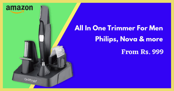 From Rs. 999 Trimmers