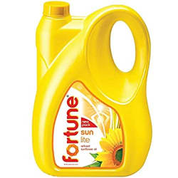 Fortune Sunlite Refined Sunflower Oil, 5L Can, DEL