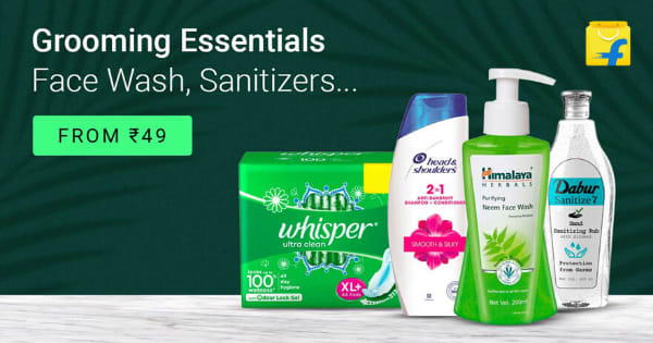 From Rs. 49 Grooming Essentials