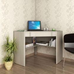 Crystal Furnitech Botwin Engineered Wood Study Table(Free Standing, Finish Color - Sandy sawline)
