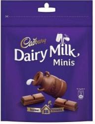 Cadbury Dairy Milk Home Treats Chocolate Bars 126 g