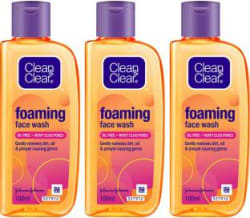 Clean & Clear Oil Free Foaming Face Wash(300 ml)