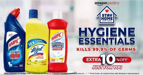 Extra 10% off on Hygiene Essentials
