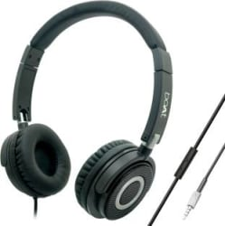 boAt BassHeads 900 Wired Headset Carbon Black, Wired over the head