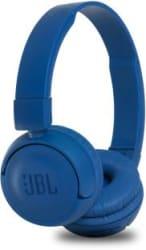 JBL T450BT Extra Bass Bluetooth Headset Blue, Wireless over the head