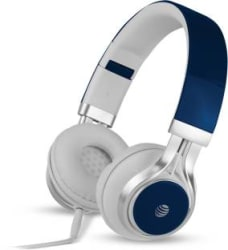 AT&T HPM10-BLU Wired Headset Blue, Wired over the head