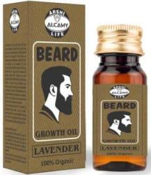 Alcamy Beard Growth Hair Oil ( LAVENDER ) 100% Organic Hair Oil 30 ml