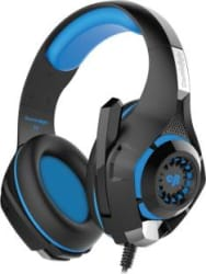 Cosmic Byte GS410 Wired Headset Black/Blue, On the Ear