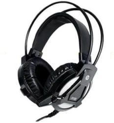 HP H100 Wired Headset Gaming Headphone Black, Wired over the head