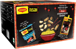 MAGGI Fusian Spicy Tomato Asian Style Cuppa Noodles with Chilli Garlic Chinese Sauce Combo 450 g