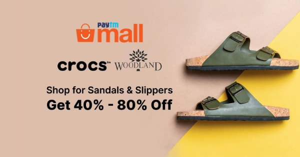 Sandals & Slippers | Min 40% Off