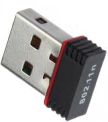 Terabyte Adapter 500 Mbps Mini WiFi Dongle Wireless 802.11 Network USB LAN Card Black
