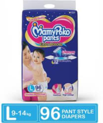 MamyPoko Pants Extra Absorb Diapers - L 96 Pieces