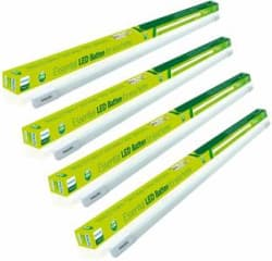 Philips Tarang Bright Straight Linear LED Tube Light White, Pack of 4