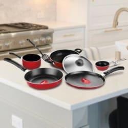 Pigeon Non- stick cookware- Favourite 7Pcs Gift set Cookware Set Aluminium, 7 - Piece
