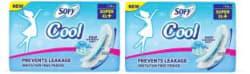 SOFY Cool Super XL + 15+15 Sanitary pad Sanitary Pad Pack of 2