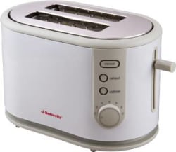 Butterfly ST 03 800 W Pop Up Toaster White, Grey