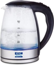 Kent 16052 Electric Kettle 1.8 L, Silver, Black