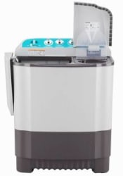 LG 6 kg With Collar Scrubber Semi Automatic Top Load Black, White P6001RG
