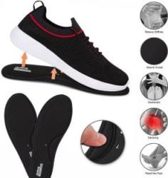 Density AIRFOAM SOCKS Walking Shoes For Men Red