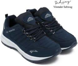 Asian Cosco Running Shoes For Men Navy, Blue