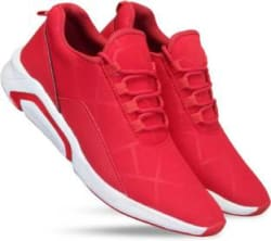 MILESWALKER Running,Gym,Sports Running Shoes For Men(Red)