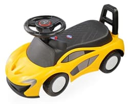 Toy House Small McLaren Push car for Kids (1 to 3 YRS ), Yellow