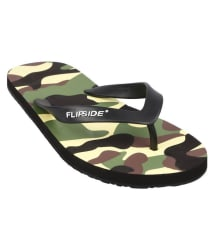 Flipside Black Thong Flip Flop
