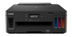 Canon G5070 Single Function Wi-Fi Colour Ink Tank Printer with Auto-Duplex Printing and Networking (Black)